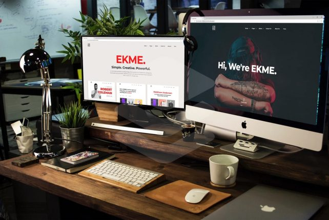 Ekme – One Page WordPress Landing Pages Theme